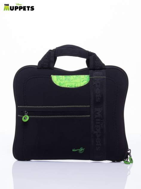 Czarna torba na laptopa DISNEY Muppety                                   zdj.                                  1