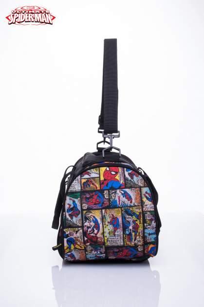 Czarna torba sportowa MARVEL SpiderMan                                  zdj.                                  3