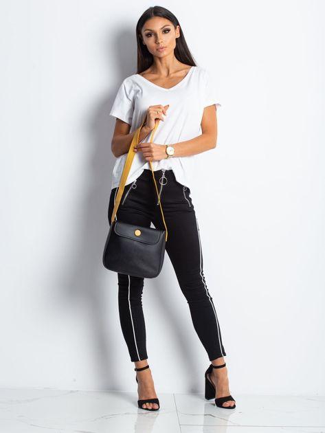 Czarna torebka na ramię                              zdj.                              5