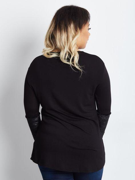 Czarna tunika plus size Comparisons                              zdj.                              2