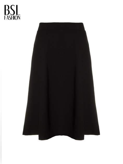 Czarna zwiewna spódnica midi                                  zdj.                                  2