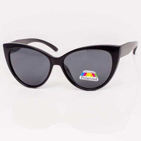 Czarne Damskie Okulary POLARYZACYJNE KOTY                              zdj.                              3