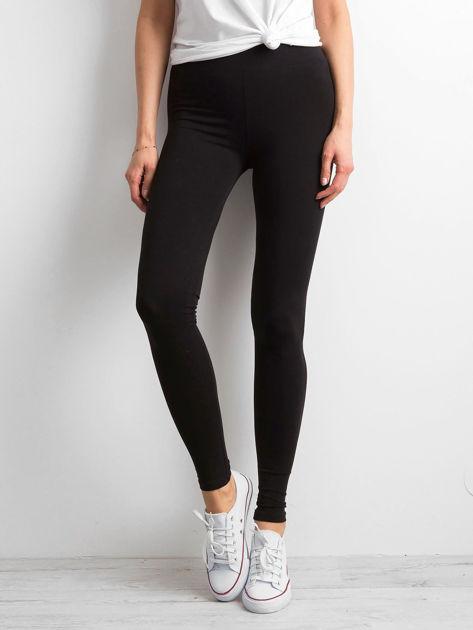 Czarne legginsy Basic