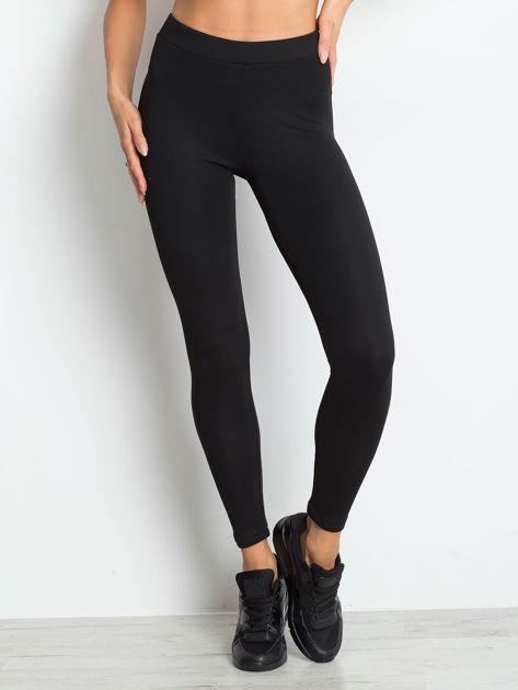 Czarne legginsy Standout                              zdj.                              1
