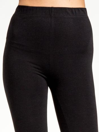 Czarne legginsy z dżetami na dole                                  zdj.                                  5