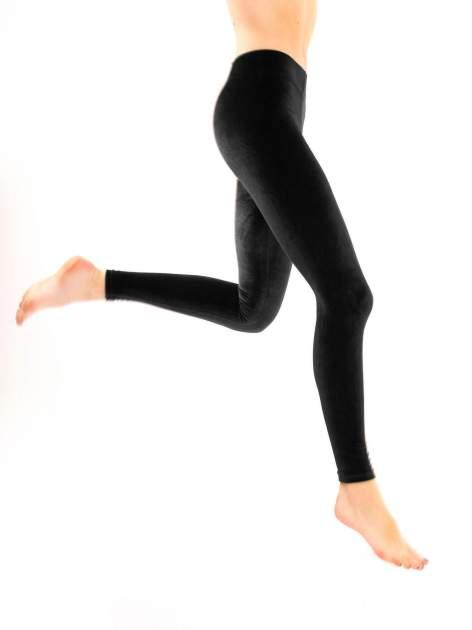 Czarne legginsy z weluru                                  zdj.                                  5