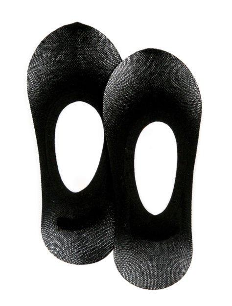 Czarne skarpetki do balerin                              zdj.                              1