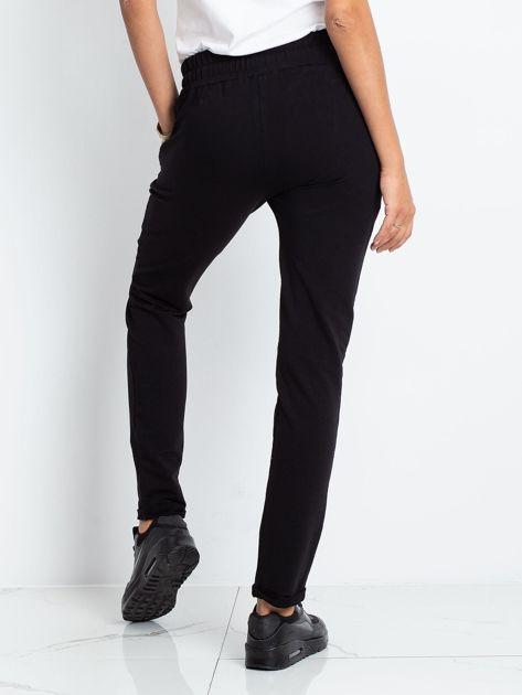 Czarne spodnie Cadence                              zdj.                              2