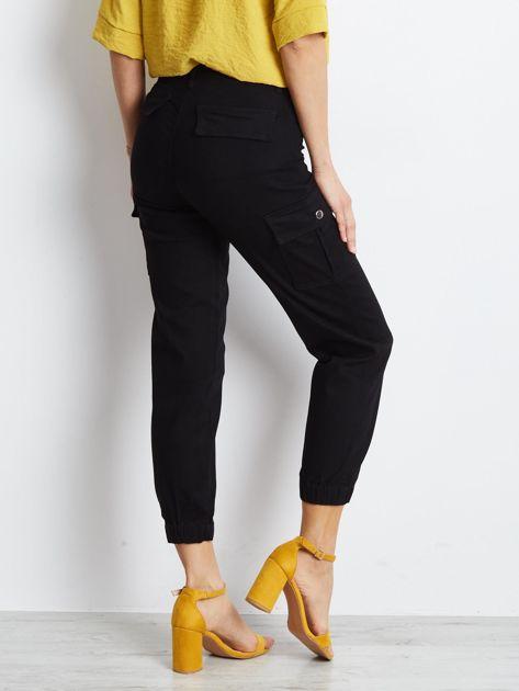 Czarne spodnie Carbonee                              zdj.                              2