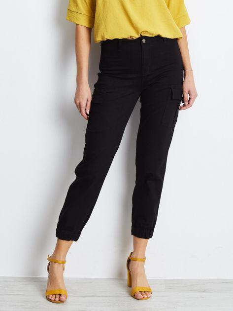 Czarne spodnie Carbonee                              zdj.                              3