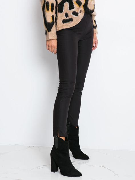 Czarne spodnie Glitter                              zdj.                              3