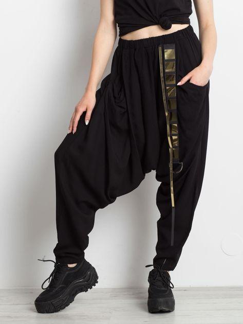 Czarne spodnie Holder                              zdj.                              1