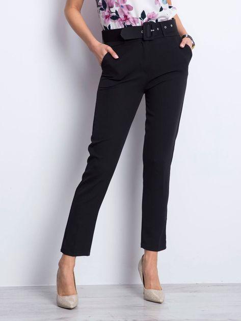 Czarne spodnie Invitation                              zdj.                              1
