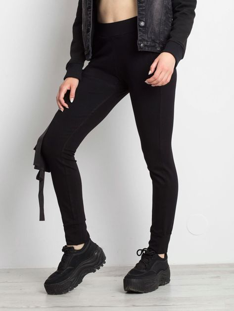 Czarne spodnie Vulnerable                              zdj.                              1