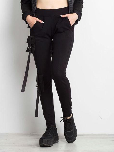 Czarne spodnie Vulnerable                              zdj.                              5