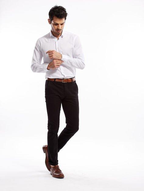 Czarne spodnie męskie slim fit                              zdj.                              14