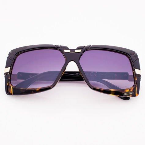 Czarno-Brązowe Okulary Przeciwsłoneczne                              zdj.                              1