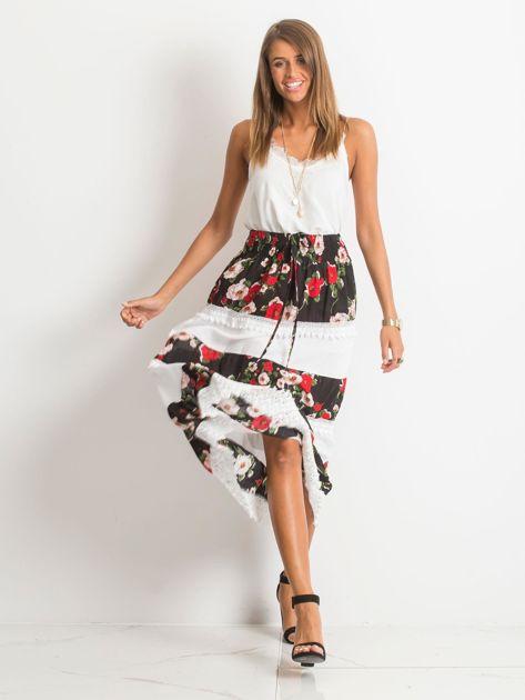 Czarno-biała spódnica Breakout                              zdj.                              4