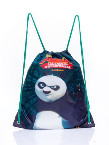 Czarny plecak worek DISNEY Kung Fu Panda                                  zdj.                                  1