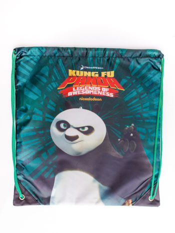 Czarny plecak worek DISNEY Kung Fu Panda                                  zdj.                                  3