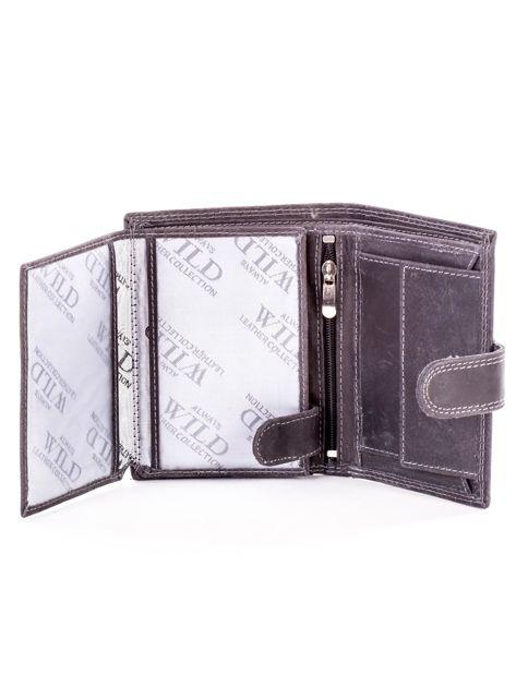 Czarny portfel dla mężczyzny skórzany                              zdj.                              5