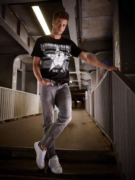 Czarny t-shirt męski LOONEY TUNES                                  zdj.                                  14