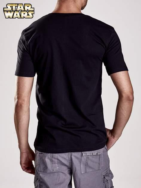 Czarny t-shirt męski motyw STAR WARS                                  zdj.                                  3