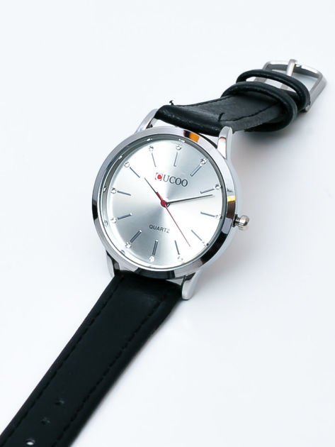 Czarny zegarek damski