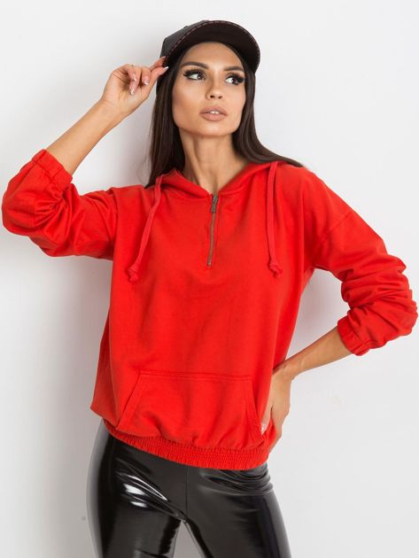 Czerwona bluza Kimmie                              zdj.                              3
