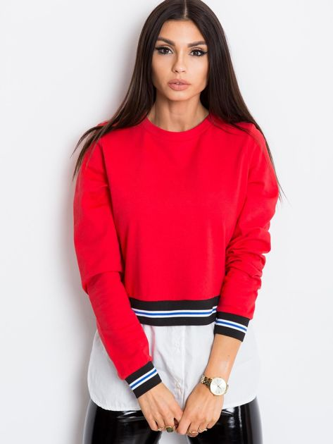 Czerwona bluza Reflective                              zdj.                              3