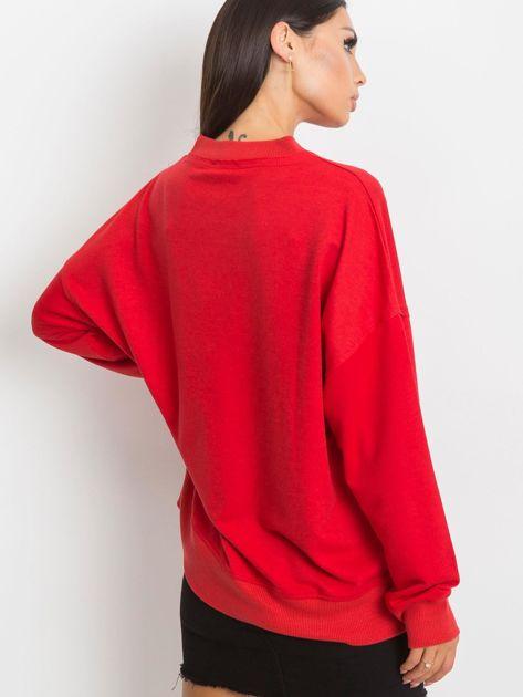 Czerwona bluza Wild                              zdj.                              2