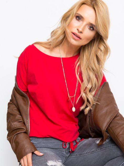 Czerwona bluzka Carla                              zdj.                              1