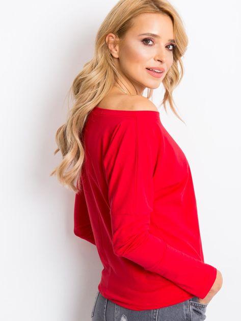 Czerwona bluzka Carla                              zdj.                              2