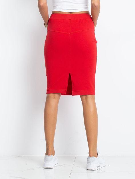 Czerwona spódnica Features                              zdj.                              2