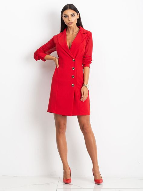 Czerwona sukienka Master                              zdj.                              4