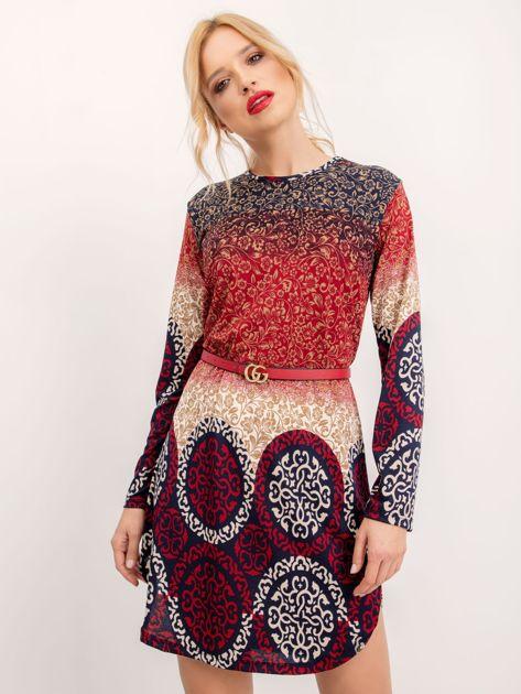 Czerwona sukienka Nikki