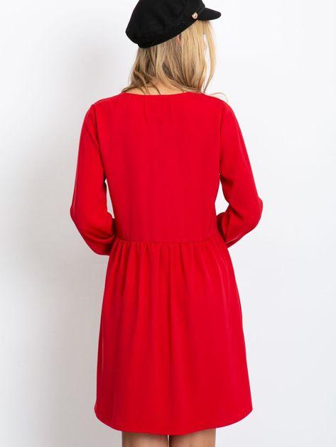 Czerwona sukienka Reason                              zdj.                              2