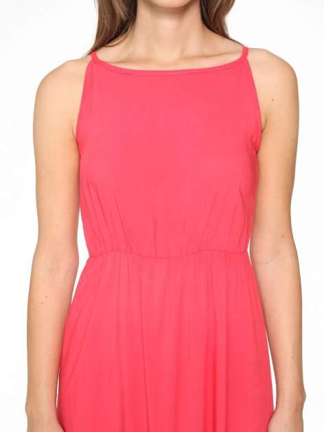 Czerwona sukienka w stylu greckim                                  zdj.                                  10