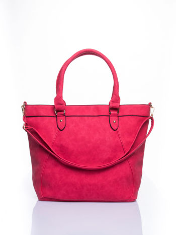 Czerwona torba city bag na ramię                                  zdj.                                  1
