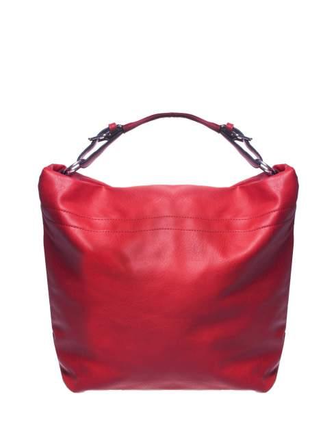 Czerwona torba hobo na ramię