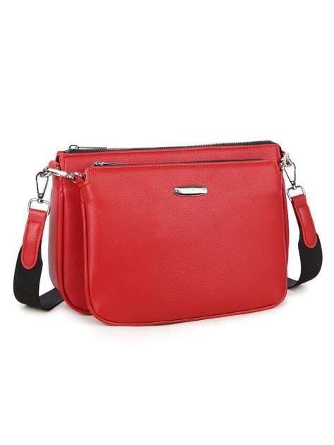 Czerwona torebka na ramię LUIGISANTO