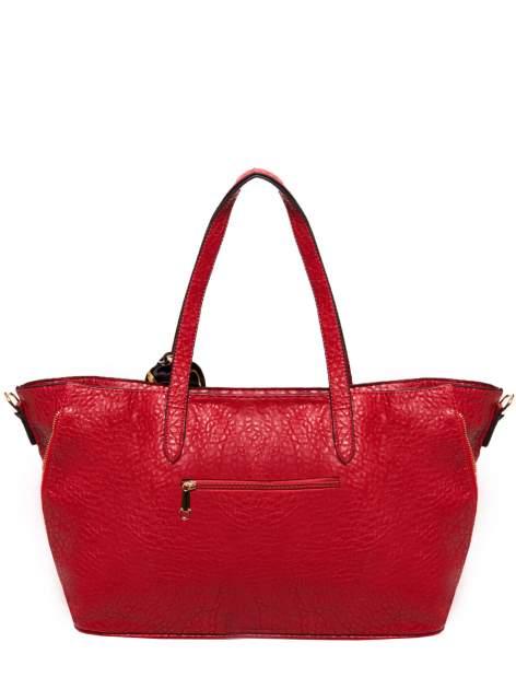 Czerwona torebka shopper bag z apaszką                                  zdj.                                  2