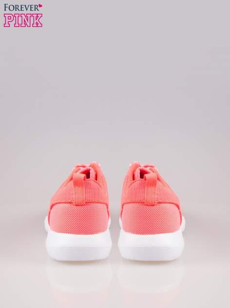 Czerwone buty sportowe eco leather On Fire                                  zdj.                                  3