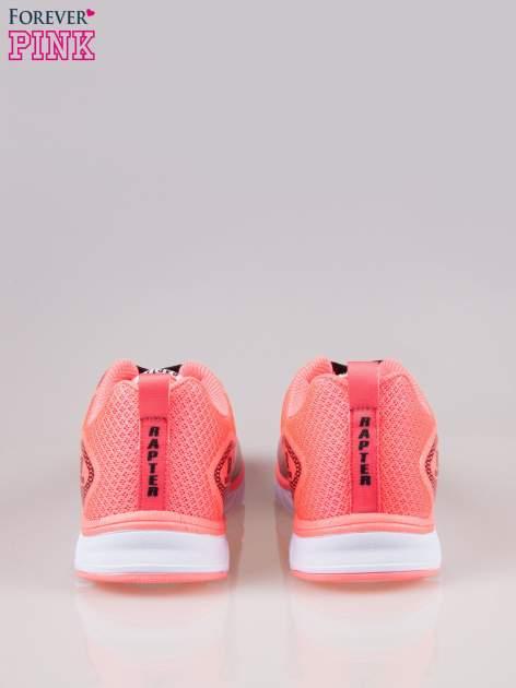 Czerwone buty sportowe textile Lovegame z elastyczną podeszwą                                  zdj.                                  3