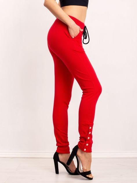 Czerwone spodnie Best                              zdj.                              2