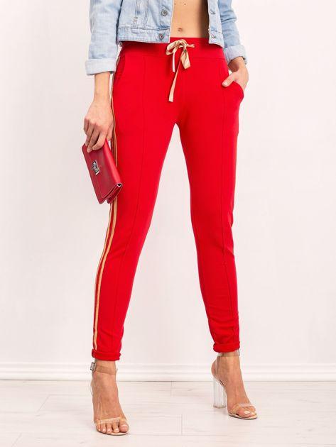 Czerwone spodnie Voila                              zdj.                              5