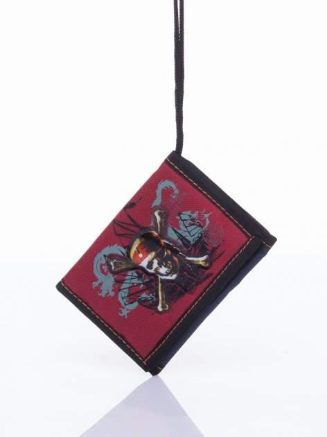 Czerwony portfel chłopięcy DISNEY Piraci z Karaibów                                  zdj.                                  5