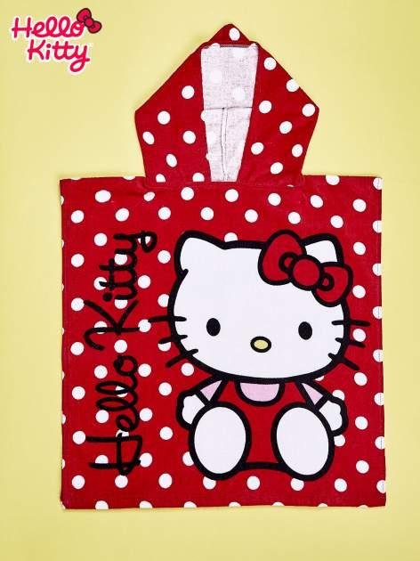 Czerwony szlafrok dla dziewczynki HELLO KITTY                                  zdj.                                  1