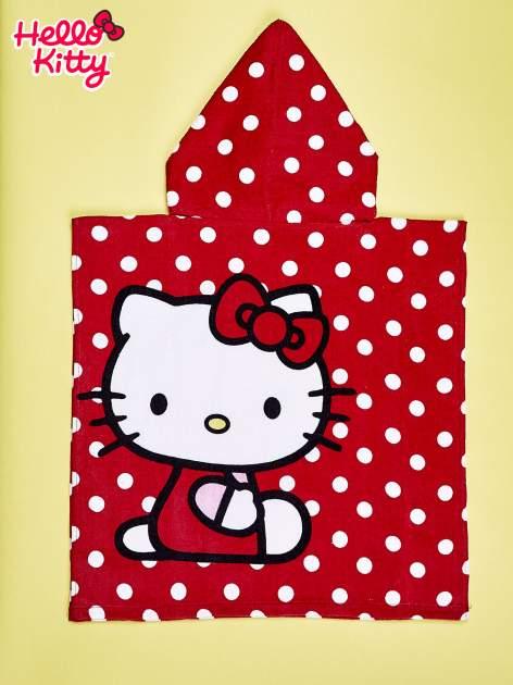 Czerwony szlafrok dla dziewczynki HELLO KITTY                                  zdj.                                  2