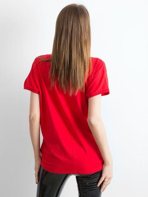 Czerwony t-shirt Kittens                              zdj.                              2